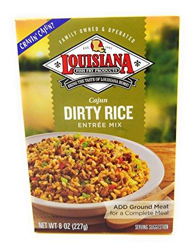 Louisiana Fish Fry Dirty Rice Entree Mix 8.0 oz box