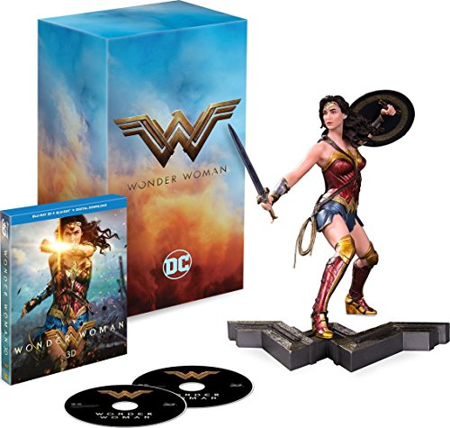 Wonder Woman [Blu-ray 3D + Blu-ray + Limited Edition Statue] by