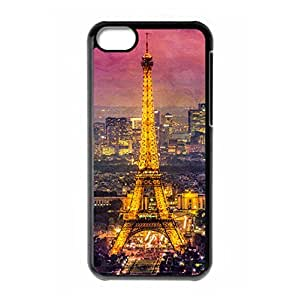 Eiffel Tower theme for iPhone 5C hard back case