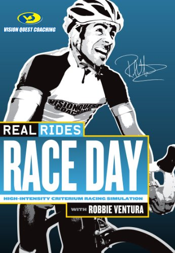 CycleOps realRides Race Day Trainer DVD (Race Cycleops)