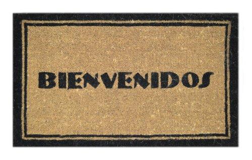 Cheap  Imports Decor Printed Coir Doormat, Bienvenidos, 18-Inch by 30-Inch