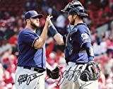 Matt Albers/Jett Bandy Milwaukee Brewers Signed Autographed 8x10 Photo W/coa - Autographed MLB Photos