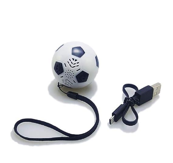 SSJ® - Altavoz USB con diseño de balón de fútbol: Amazon.es ...