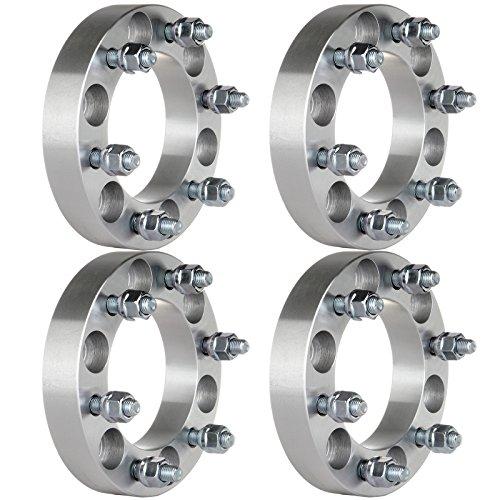Wheel Adapter,ECCPP 6 lug Wheel Spacers Adapters 4X 1.25