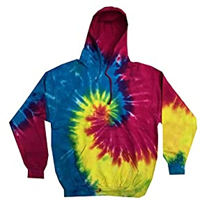 Colortone Youth & Adult Tie Dye Pullover Hoodie 26