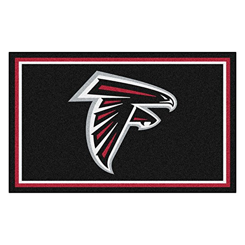 Falcons Nylon Face 4X6 Plush Rug ()
