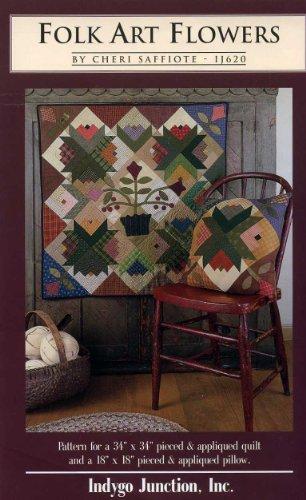 - Folk Art Flowers (Pattern for a 34