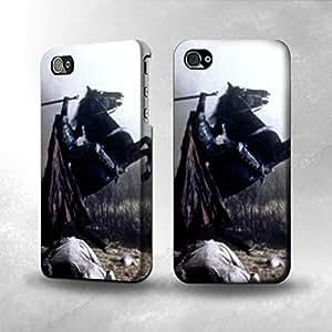 Apple iPhone 4 / 4S Case - The Best 3D Full Wrap iPhone Case - The Dullahan Headless Horseman