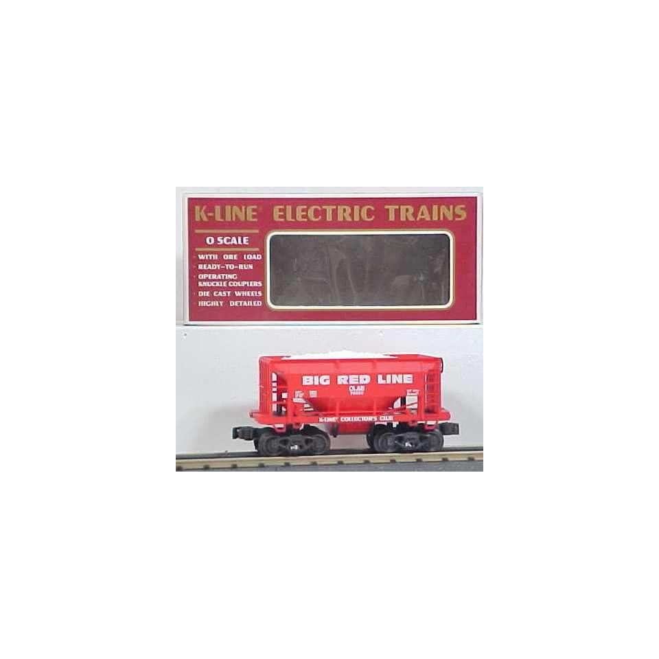 K Line K90006 KCC 1994 Big Red Line Ore Car/Box Toys