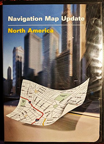 Navteq Maps Navigation Map Update North America DVD Mapping Software for GPS Navigation Systems 2011 PC