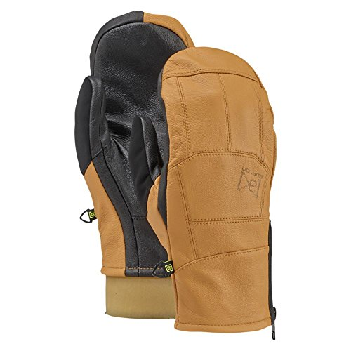 Burton AK Leather Tech Mitts, Raw Hide, Small
