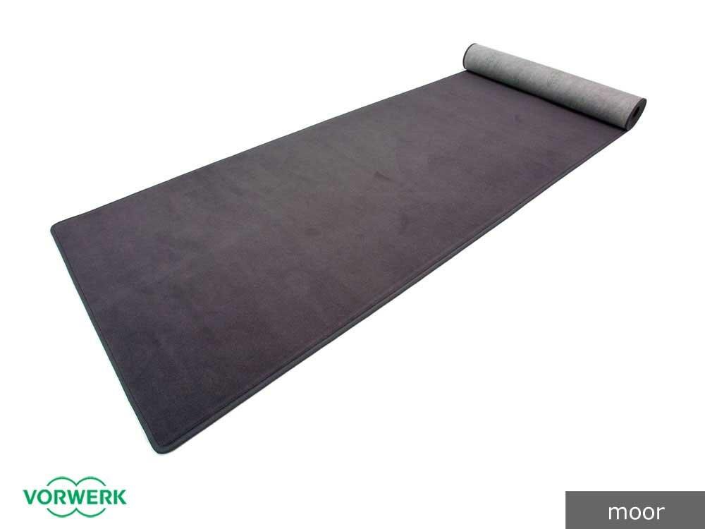 Bijou - Der Vorwerk Teppich Läufer von HEVO® in Moor 080x650 cm