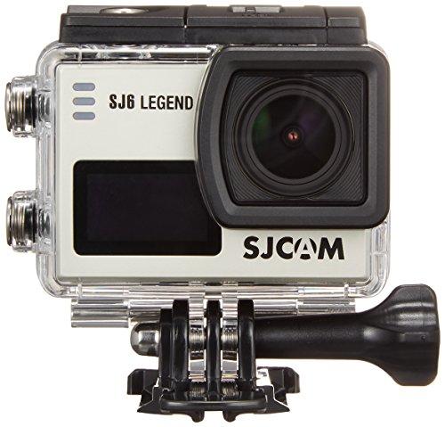 SJCAM ウェアラブルカメラ SJ6 Legend 手振れ補正機能搭載 4K Silver SJ6S