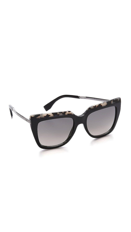 efa5cf5481a Fendi Ff 0087 s 53mm 100% Authentic Sunglasses Havana Black Ruthenium  Cu1dx  Amazon.co.uk  Clothing