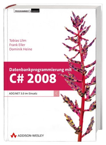 Datenbankprogrammierung mit C# 2008: ADO.NET 3.0 im Einsatz