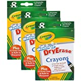 Crayola Large Dry Erase Crayons, Set of 24 (98-5200)