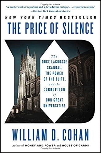 >TOP> The Price Of Silence: The Duke Lacrosse Scandal, The Power Of The Elite, And The Corruption Of Our Great Universities. Level Meaning tecnicas siempre Boston Common