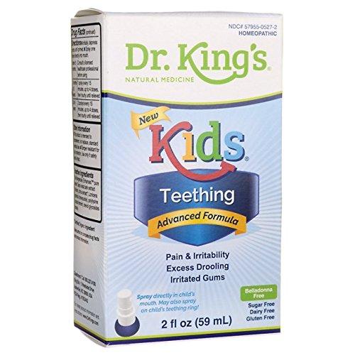 King Bio Teething Relief 2 fl oz (59 ml) Liquid
