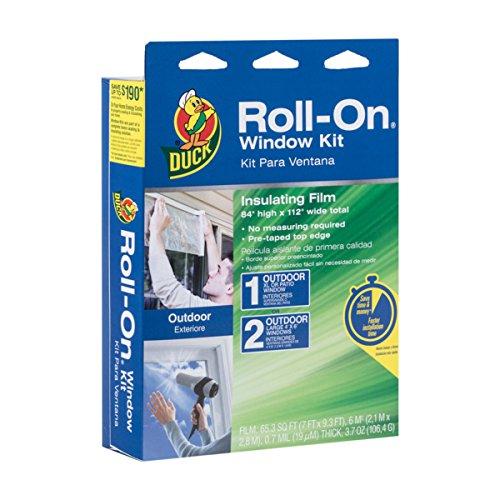 utdoor Extra Large Window/Patio Door Premium Insulating Film Kit, 84-Inch x 112-Inch, 281070 (Patio Door Insulator Kit)