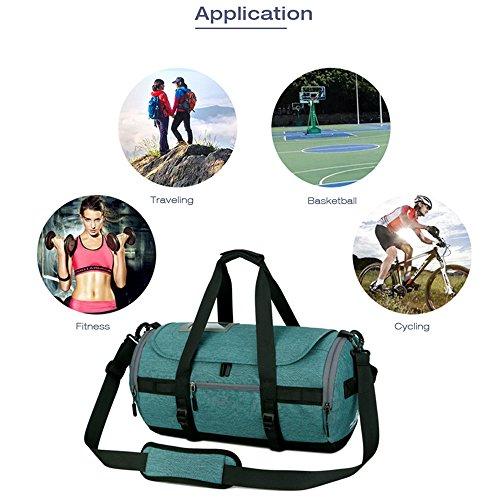 Climbing Camping Men MeiLiio Women Outdoor Hiking Large Backpack Traveling Blue A02 Kids Outdoor Handbag Light Sport Green Bags Waterproof for Multifunctional zwx54Pq5a