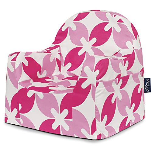 - P'Kolino Little Reader Chair, Pink Leaves