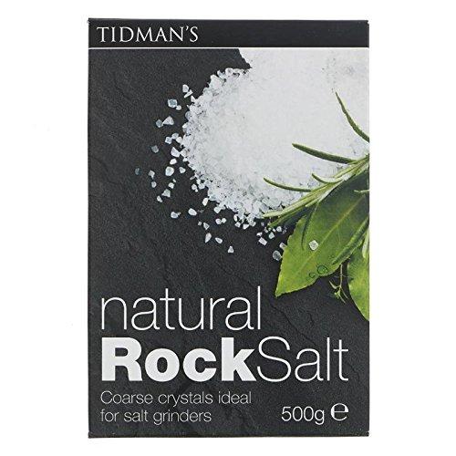 Natural Rock Salt - 3 x 17.7 oz by Tidmans