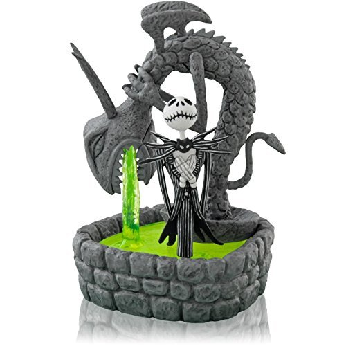 This Is Halloween - Tim Burton's The Nightmare Before Christmas - 2014 Hallmark Keepsake Magic Light and Sound Ornament]()