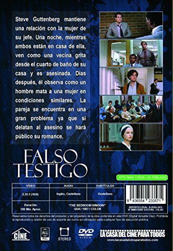 Amazon.com: The Bedroom Widow - Falso Testigo [Non-usa ...