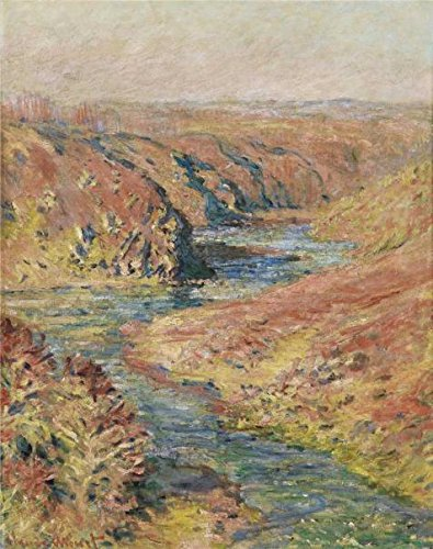 Oil Painting 'Claude Monet - The Valley Of The Creuse At Fresselines, 1889' 8 x 10 inch / 20 x 26 cm , on High Definition HD canvas prints is - Slider Sunglasses Smith