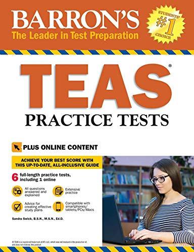 10 best barrons teas practice test for 2019