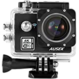 Duoying 16MP 4K Action Camera Waterproof WIFI Sports Camera 170 Degree Ultra Wide-Angle Len 2.0 Inch HD Screen