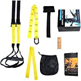 Military Grade Suspension Strap Full Body Workout Home Gym Kit