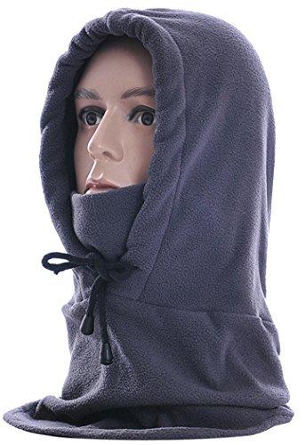 (Balaclava, Fascigirl Unisex Winter Adjustable Polar Fleece Ski Mask Hood Outdoor Sports Mask(Grey))