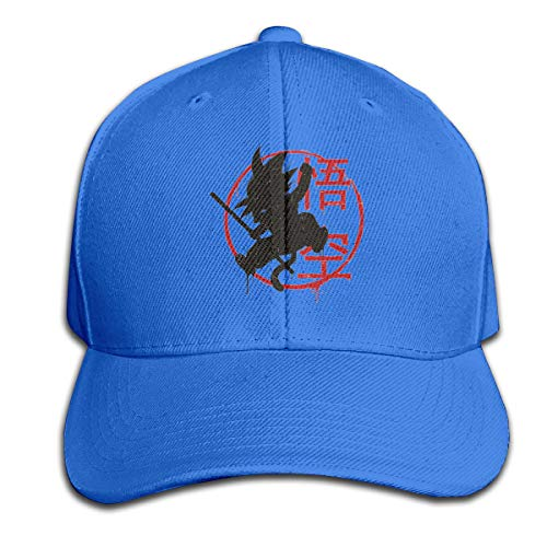 STDONE Customized Unisex Dragon Ball Z Goku Logo Baseball-Cap Fashion Dad-Hat Blue