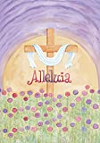 Toland Home Garden Alleluia 28 x 40-Inch Decorative USA-Produced House Flag