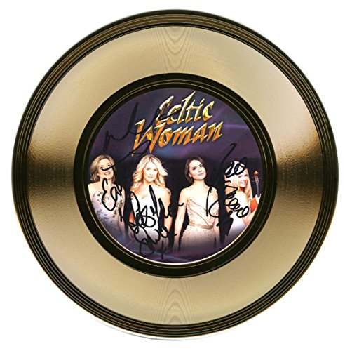 Celtic Woman   Irish Music Group   Autographed Gold Record   Signed By 4