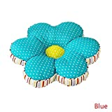 Abreeze Indoor Outdoor Flower Shaped Chair Cushion Seat Pad Floor Cushion Pillow 16x16inches