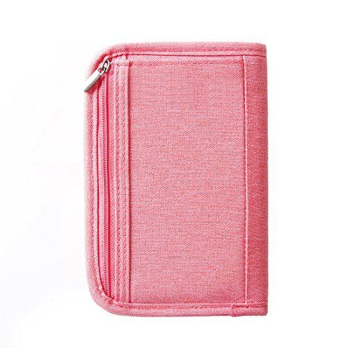 SUSU Travel Passport Wallet Case Family Passport Holder Organizer 4 Passport Cover for Women, Mom, Girls by SUSU (Image #6)