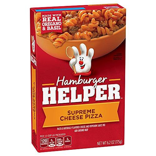 Hamburger Helper Supreme Cheese Pizza