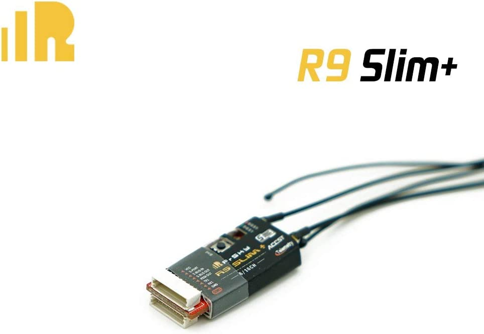 FrSky R9 Slim+ Receiver Optimized 900MHz Long Range Receiver with 2 Detachable Antennas