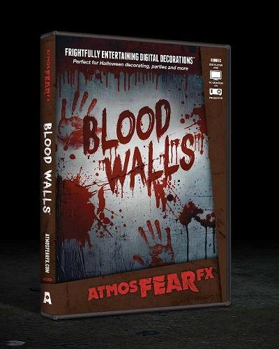 AtmosFEARfx - Blood Walls | Halloween Video Projection Effect DVD