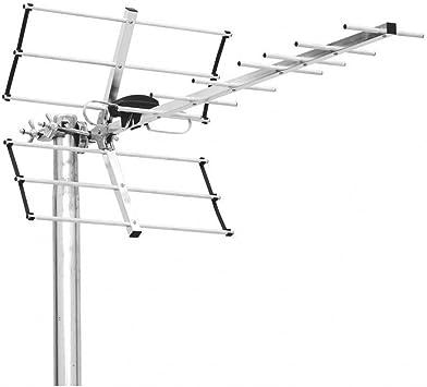 Triax Digi 14 Antena TDT UHF LTE 800 14 Eléments: Amazon.es ...