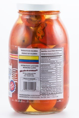 CHONTADURO - PEACH PALM FRUIT 28 OZ by La Fe
