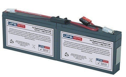 APC Smart-UPS 450VA Rack Mount 1U (SC450RM1U) Compatible Replacement Battery Pack by UPSBatteryCenter