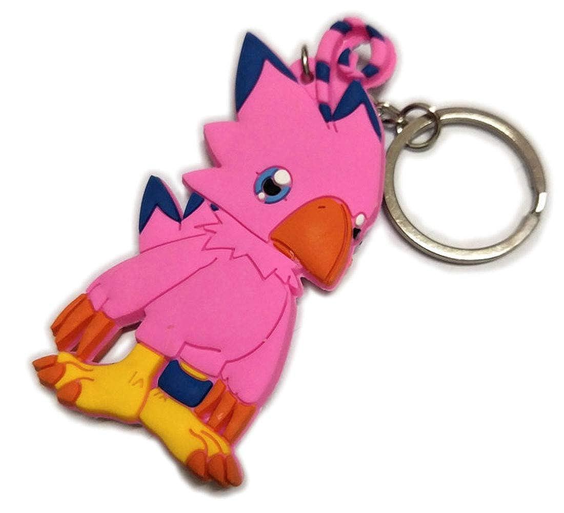 DOFE Digimon Keychain,PVC keychain,Cartoon Keychain,For Boys.3.5. For Boys.3.5. (Agumon)