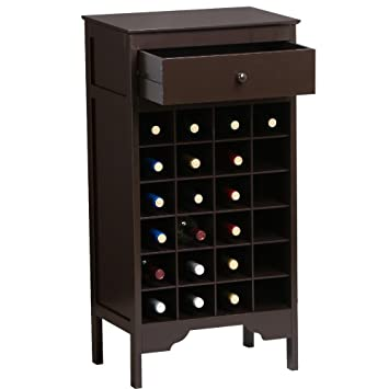 Wood Wine Liquor Bottle Cabinet Rack Shelf | Bottle Holder Storage Kitchen  Home Bar