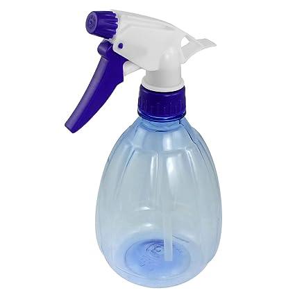 Sourcingmap Plástico Flor Plantas cultivar gatillo botella de Spray, azul 530 ml