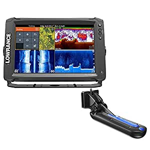 Lowrance Elite-12 Ti with TotalScan Transom Mount Transducer [000-13718-005]