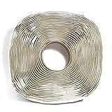 Harbre Butyl Tape Extra Long 3 mm x 25 mm x 12 Meter Long Premium Quality Rubber Mastic Sealant Tape Grey