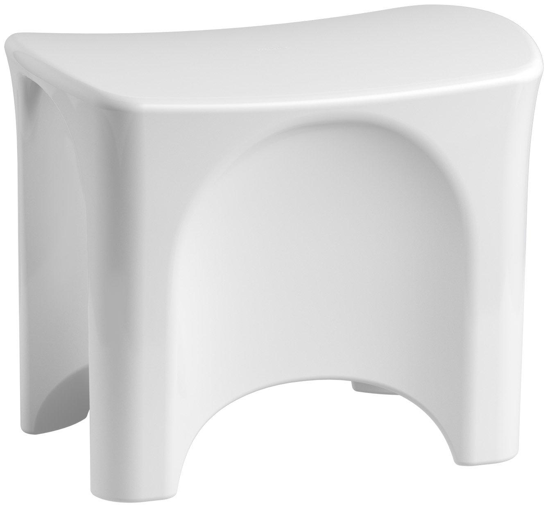 STERLING 72186104-0 Freestanding Shower Seat, White